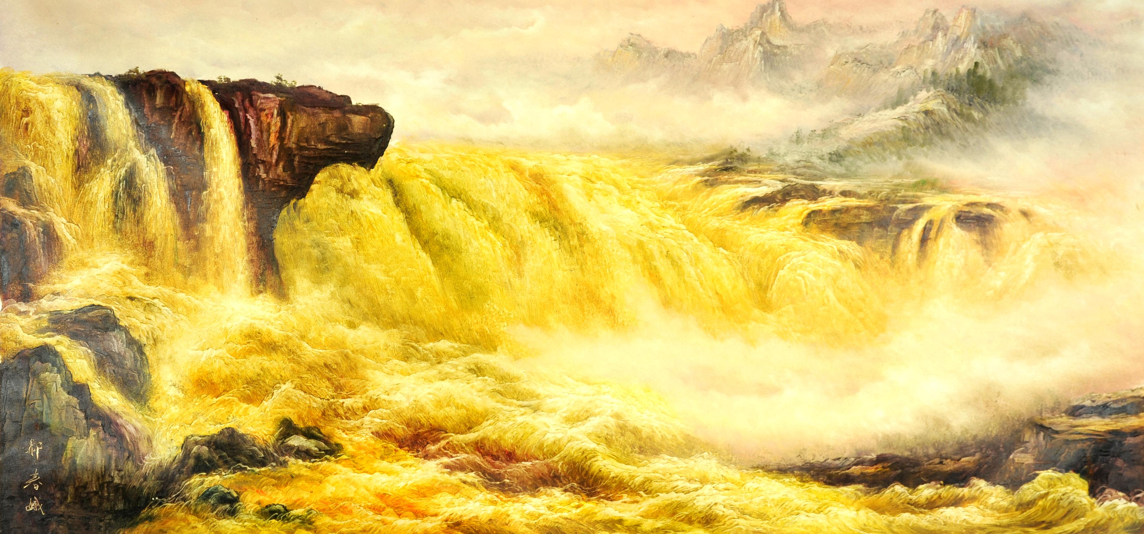 代表吉林风景画